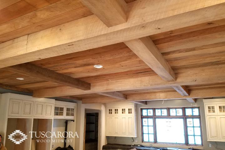Tuscarora Reclaimed Wood Beams Tuscarora Wood Midwest