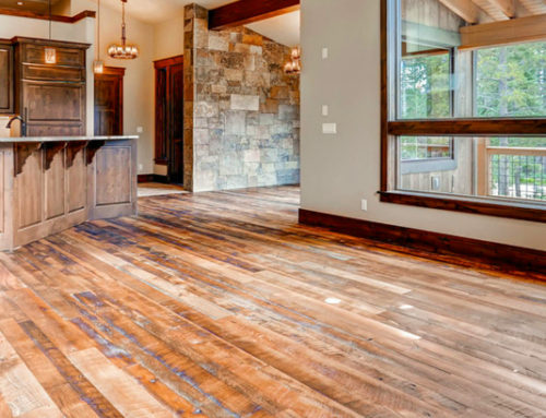 Aged Sawn Hardwood in Colorful Colorado