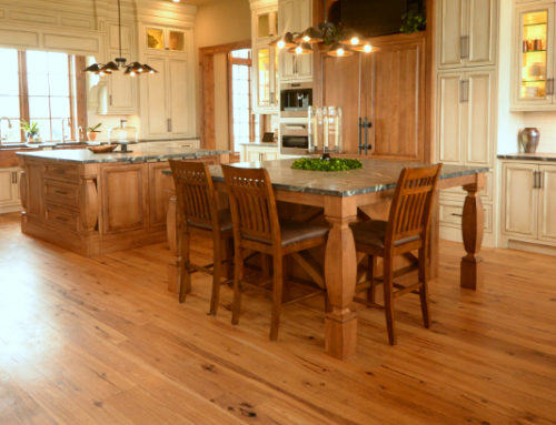 Hickory Hardwood Reclaimed from Local Barn