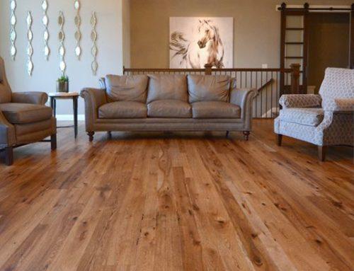 Beautiful Reclaimed Hickory Hardwood
