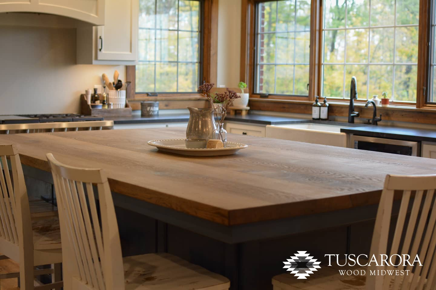 Tuscarora White Oak Countertop