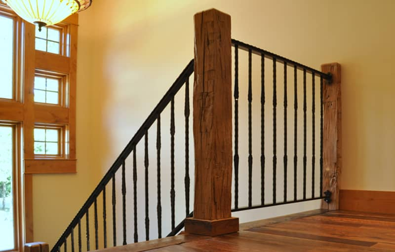 Reclaimed Hardwood Accent Beams | Tuscarora Wood