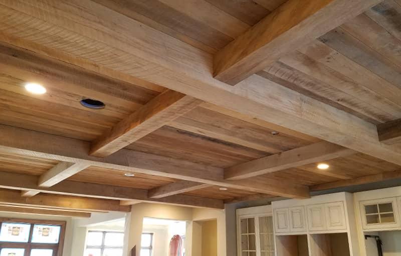 Reclaimed Hardwood Hollow Box Beams | Tuscarora Wood