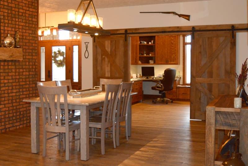 Reclaimed Wood Barn Door | Tuscarora Wood