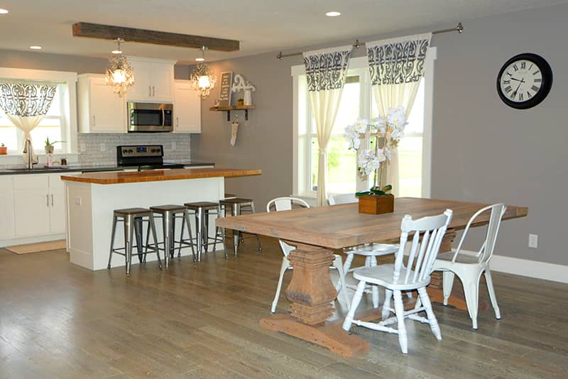 Reclaimed Wood Table & Countertop | Tuscarora Wood