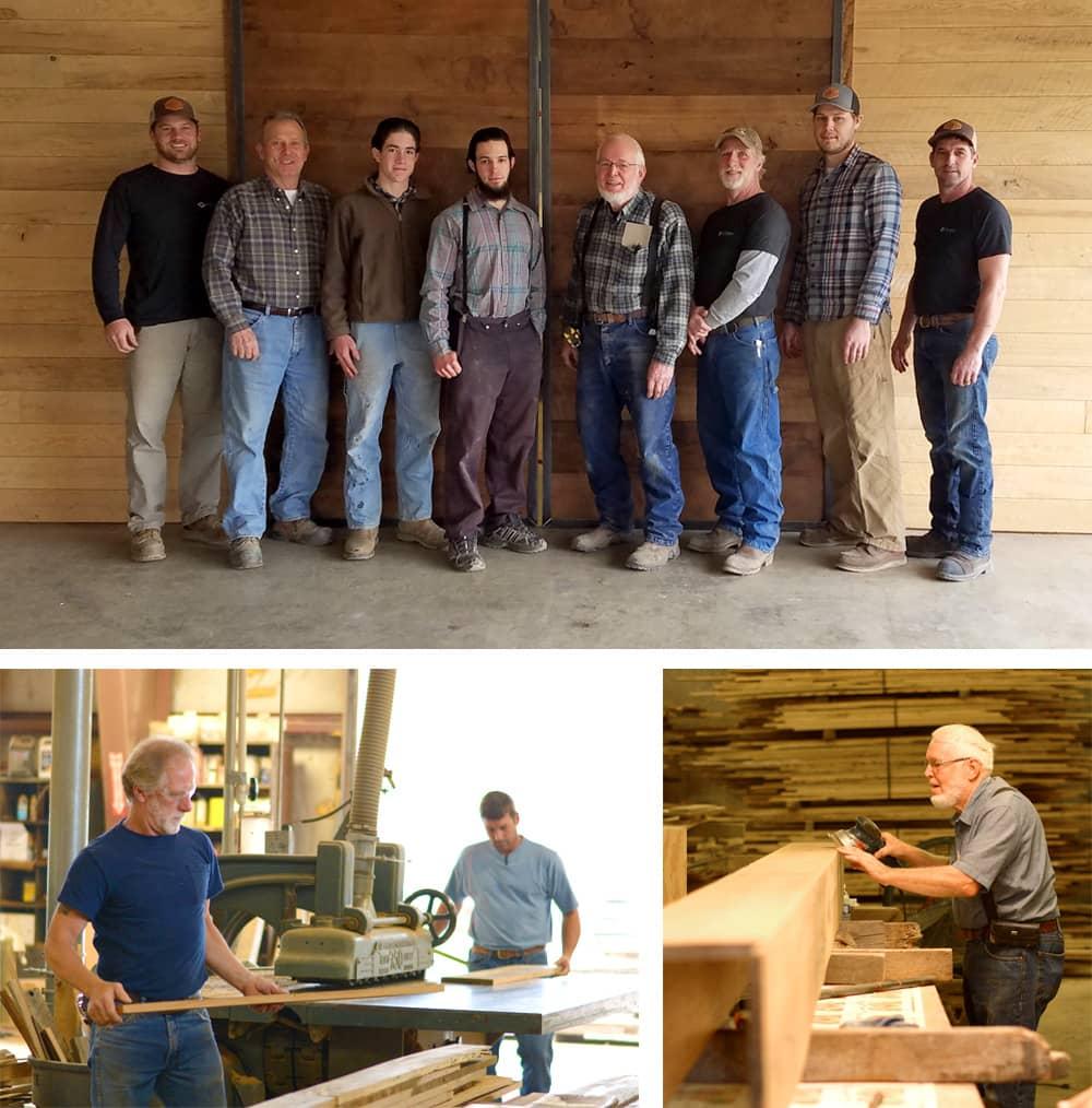 Reclaimed Wood Craftsmen | Tuscarora Wood
